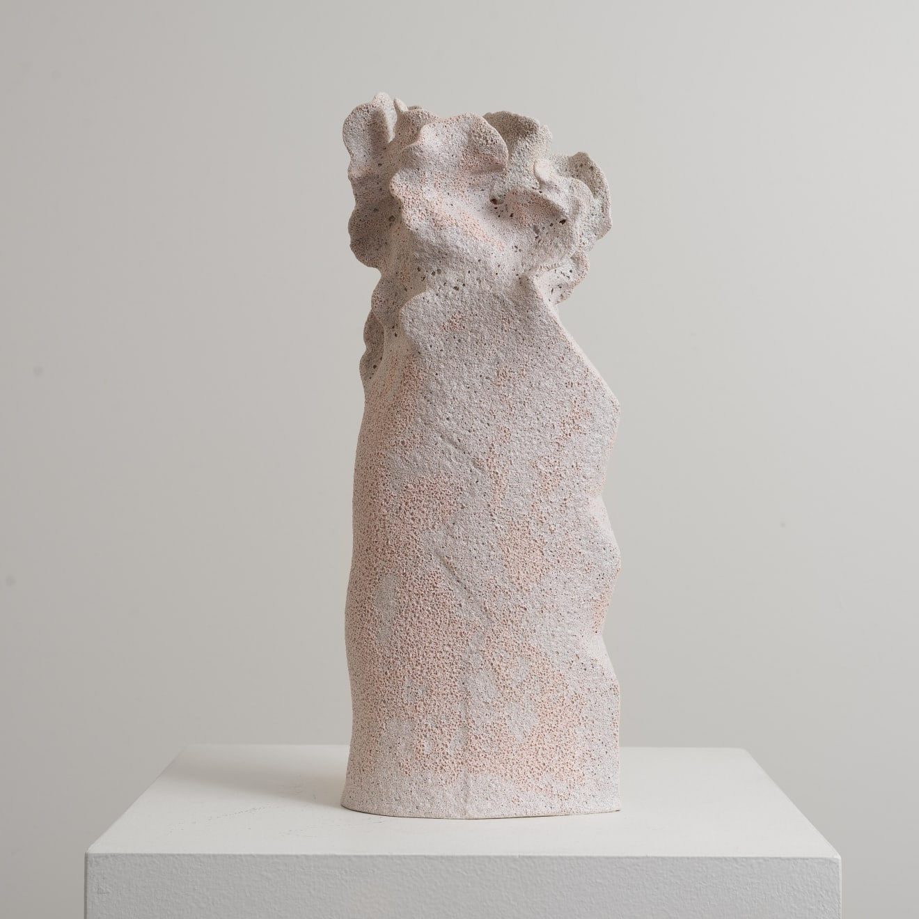 Bettina Willner-Browne Stacked Diamonds Hand-Built, Stoneware, Glaze Original 38 x 15 x 9cm $1400 £700