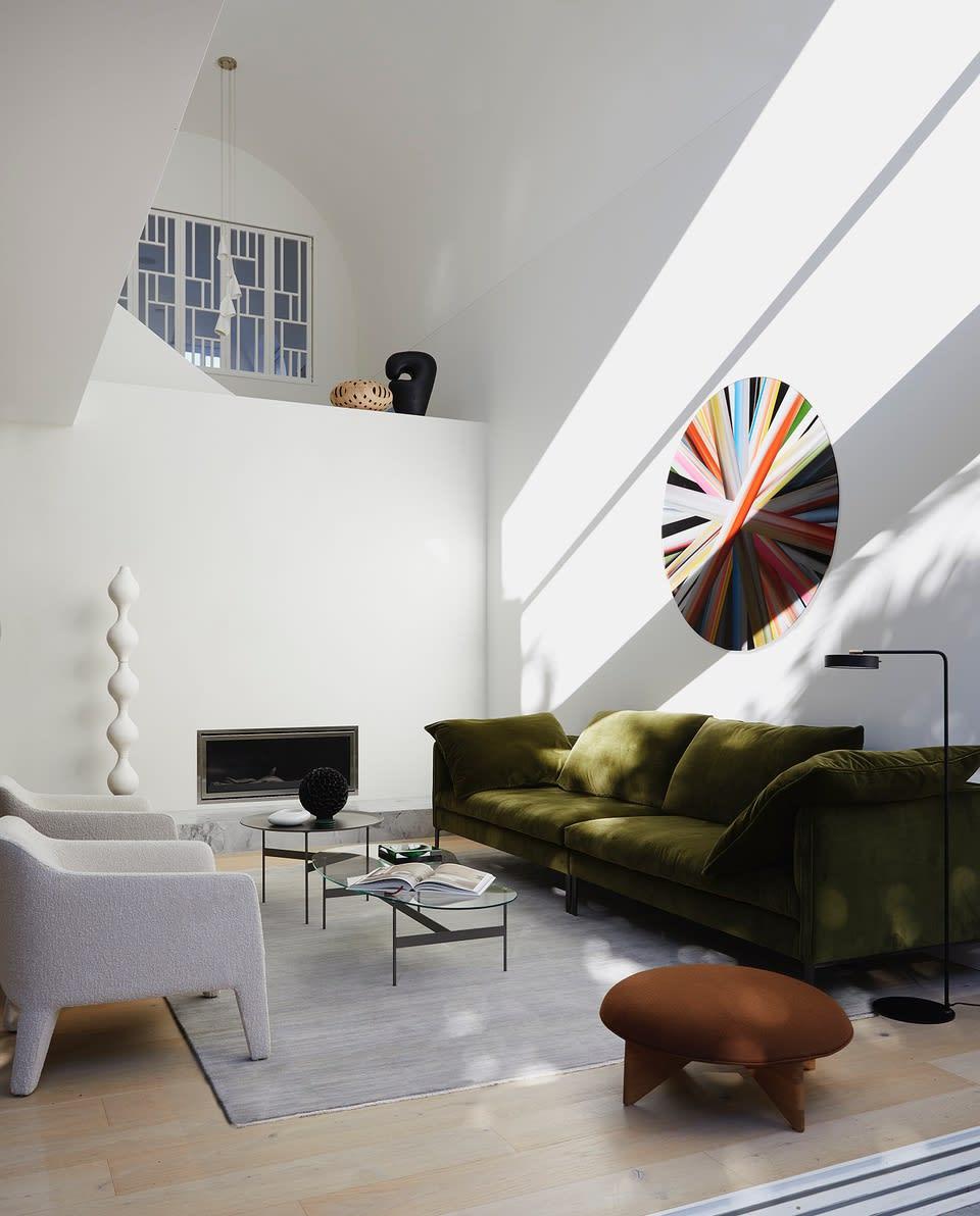 Eduardo Santos Bronte Residence by Interior Designer Studio George. Styled by Atelier Lab and Jack Milenkovic. Photographed by Dave Wheeler.