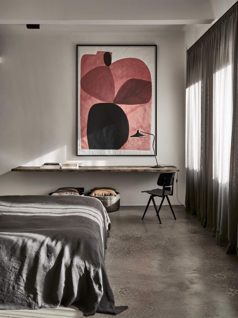 Caroline Denervaud No Ordinary Apartment by Interior Designer Annabell Kutucu. Photographed by Claus Brechenmacher.