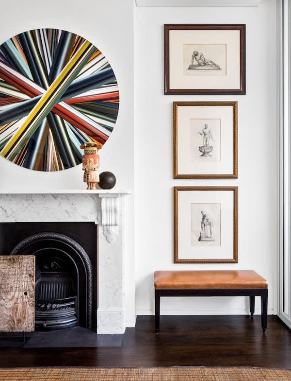 Eduardo Santos Darlinghurst Terrace House by Interior Designer Jason Mowen. Photographed by Felix Forest.