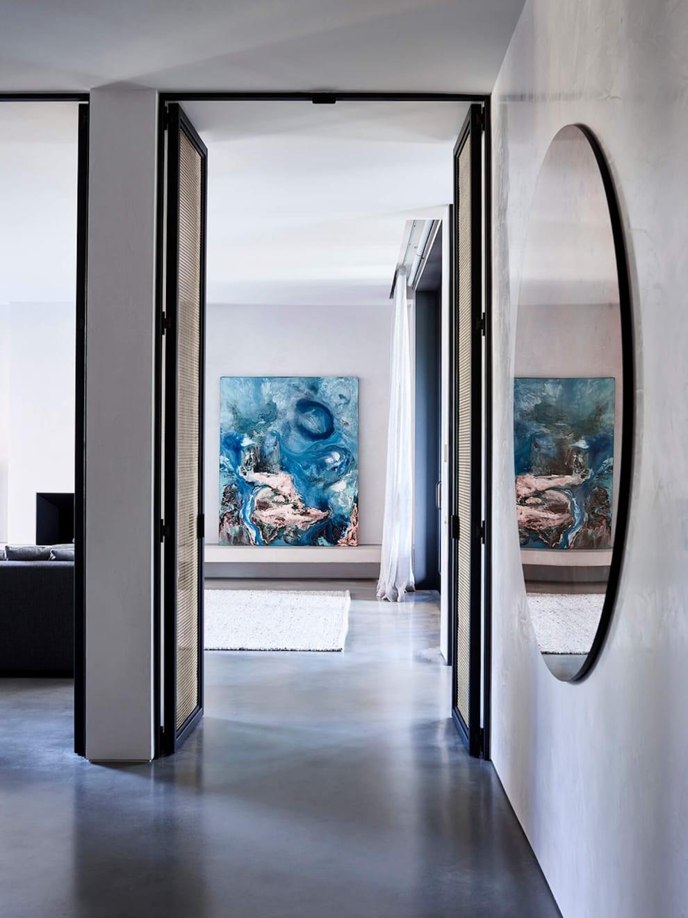 Eduardo Santos South Yarra Residence by Architect Rob Mills. Image courtesy of RMA.