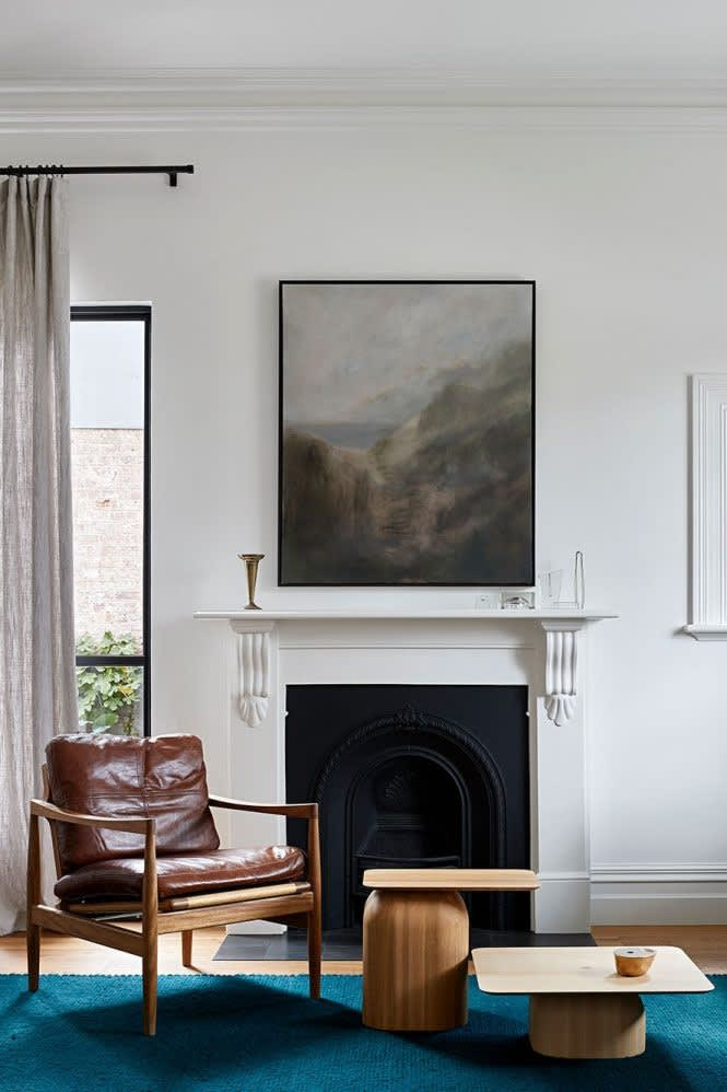 Greg Wood Carlton North Residence by Interior Designer Hecker Guthrie. Photographed by Shannon McGrath.