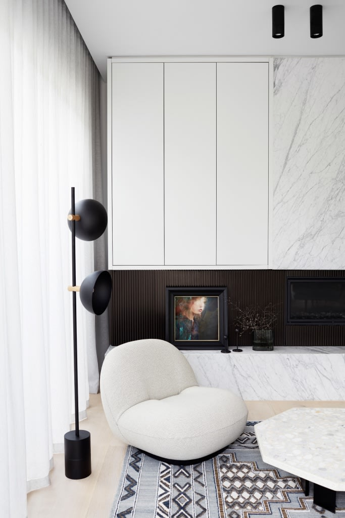 Sophia Szilagyi Canterbury House by Architect Catt Architects and Developer Mazzei Homes. Styled by Simone Haag. Photographed by Elisa Watson.