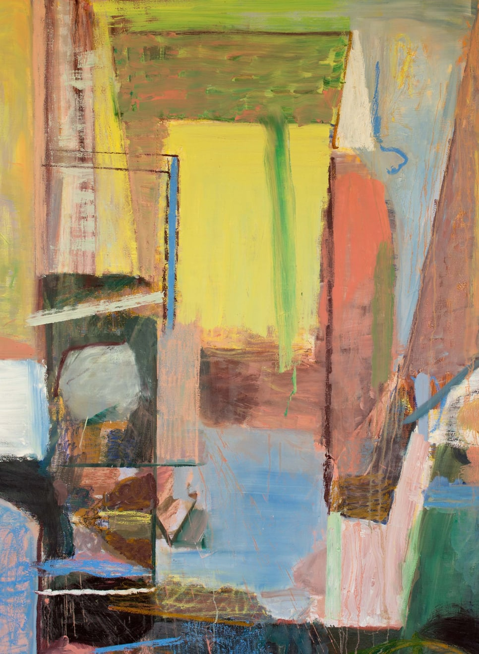 Breekwerk Oil Paint and Oil Crayon on Canvas Original 128 x 174 cm $13 100 £6 650