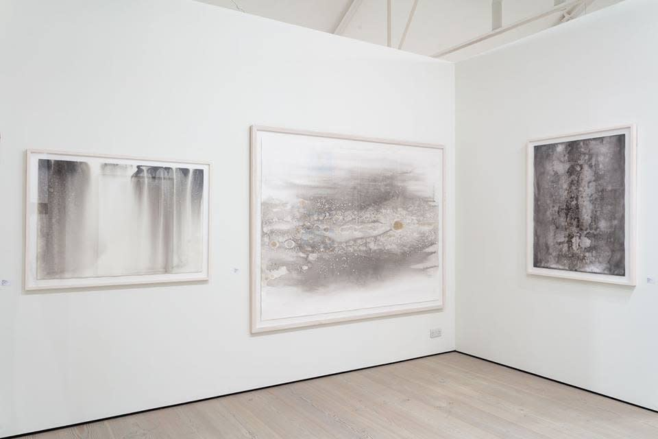 Vay Hy Installation View at START Art Fair, 2015, London Courtesy the Artist and Christine Park Gallery © Vay Hy