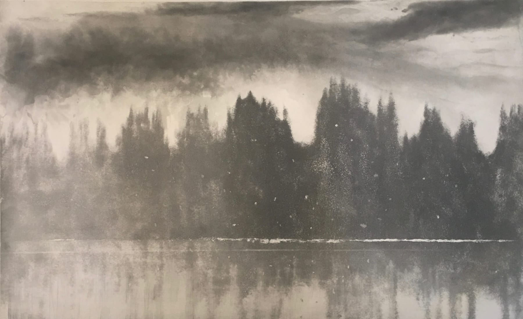 Norman Ackroyd, Loch Awe in Winter, 2006
