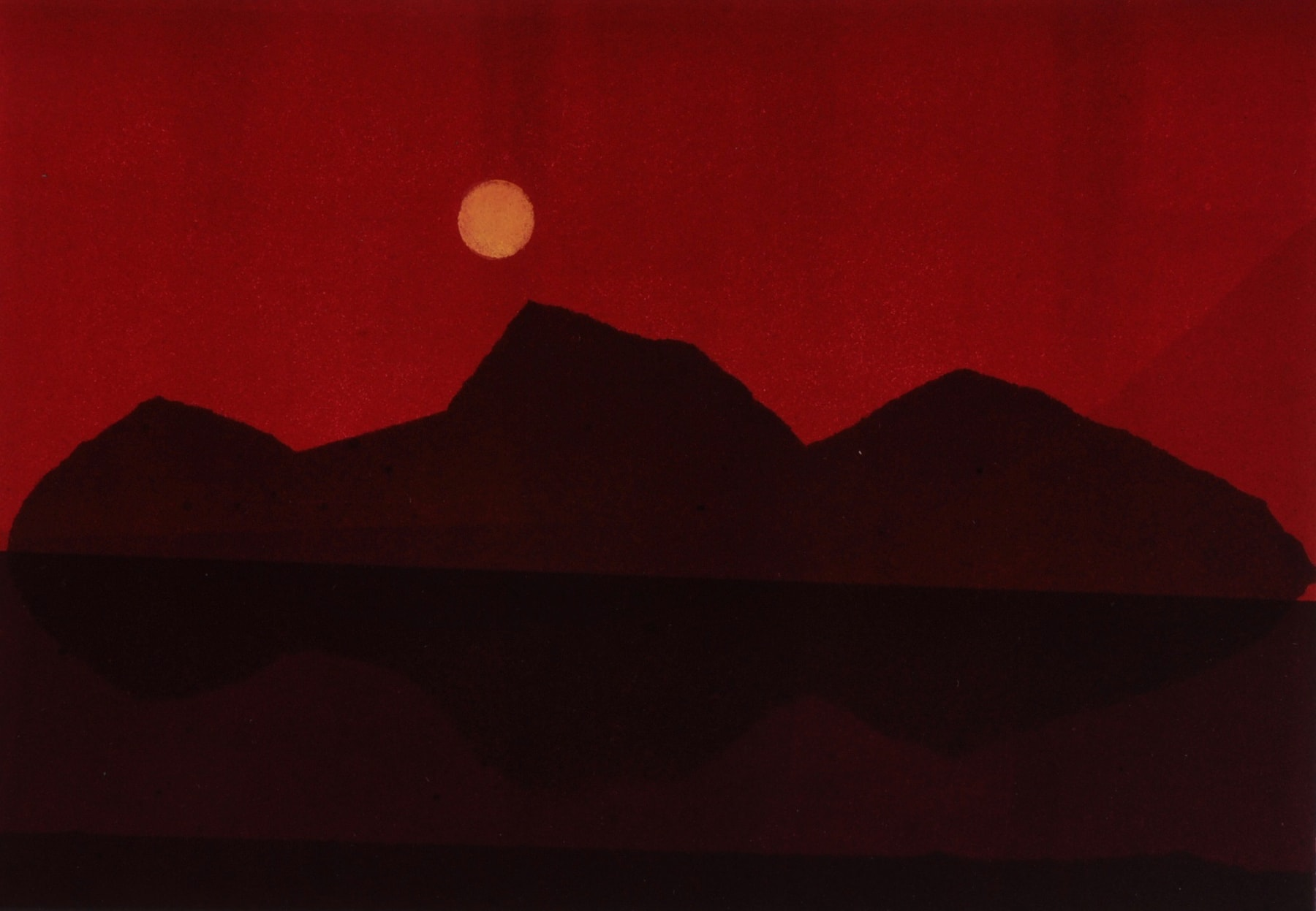 Nigel Swift, Red Mountains, 2020