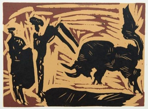 Pablo Picasso, The Banderillas (small), 1962