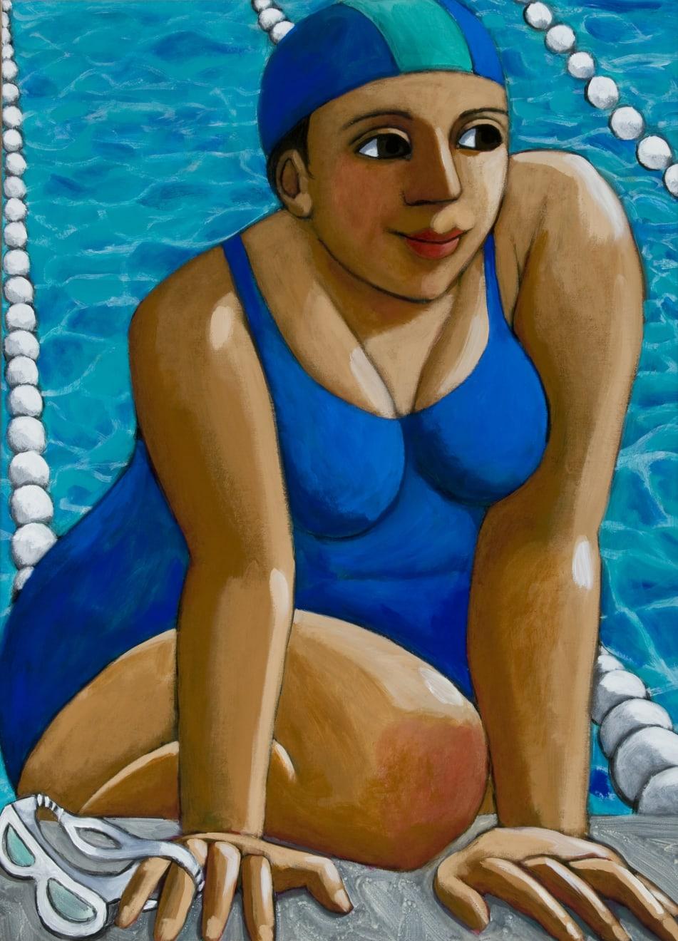 Anita Klein, Dopo Nuotare (After Swimming), 2019