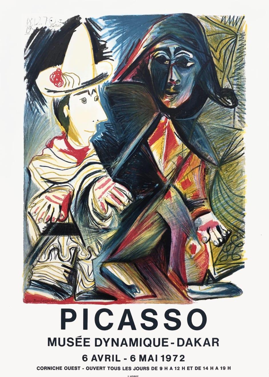 Pablo Picasso, Picasso Musée Dynamique - Dakar Exhibition Poster , 1972