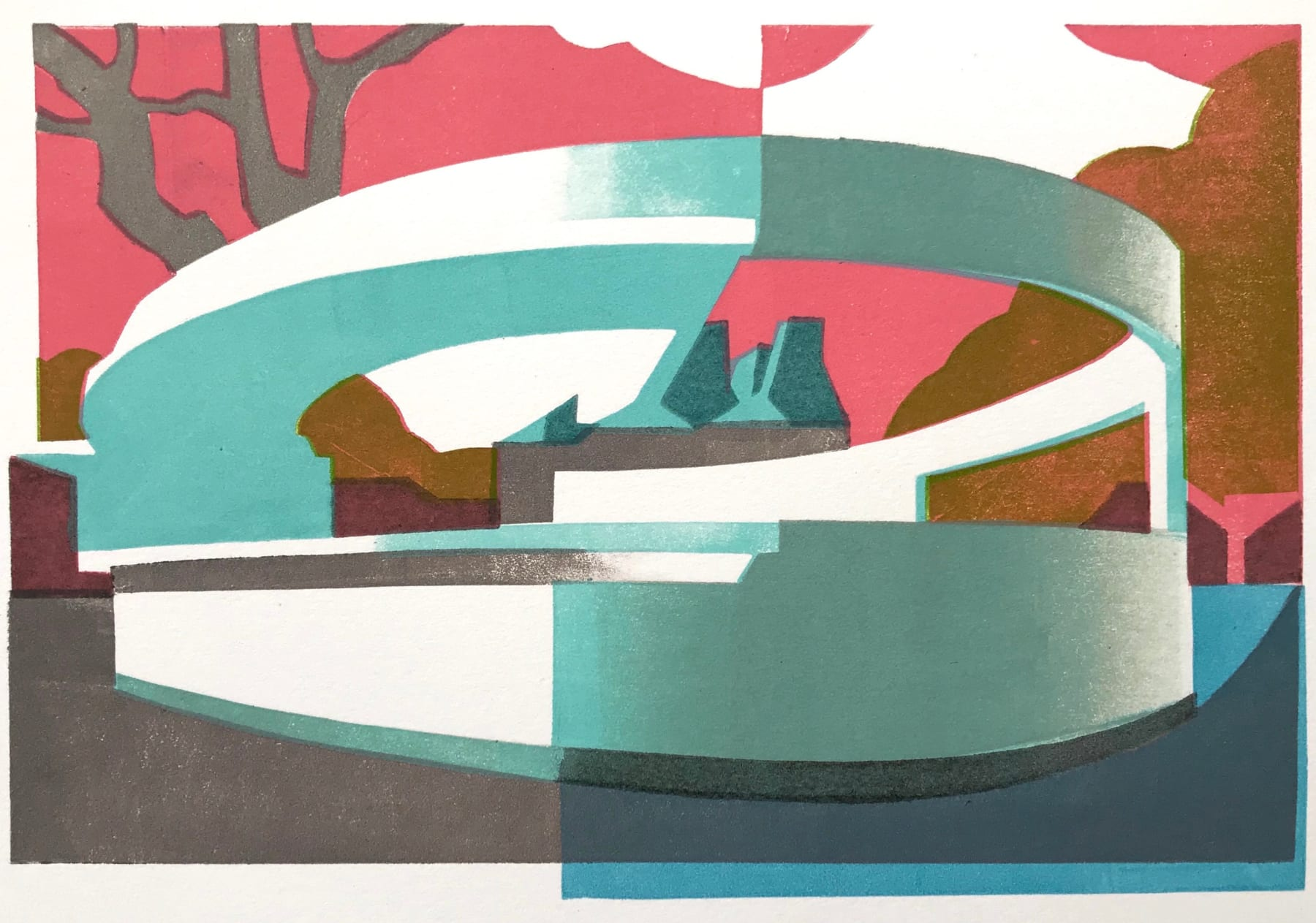 Summer Auction 2020, LOT 19 - Paul Catherall - 'Penguin Pool', 2019