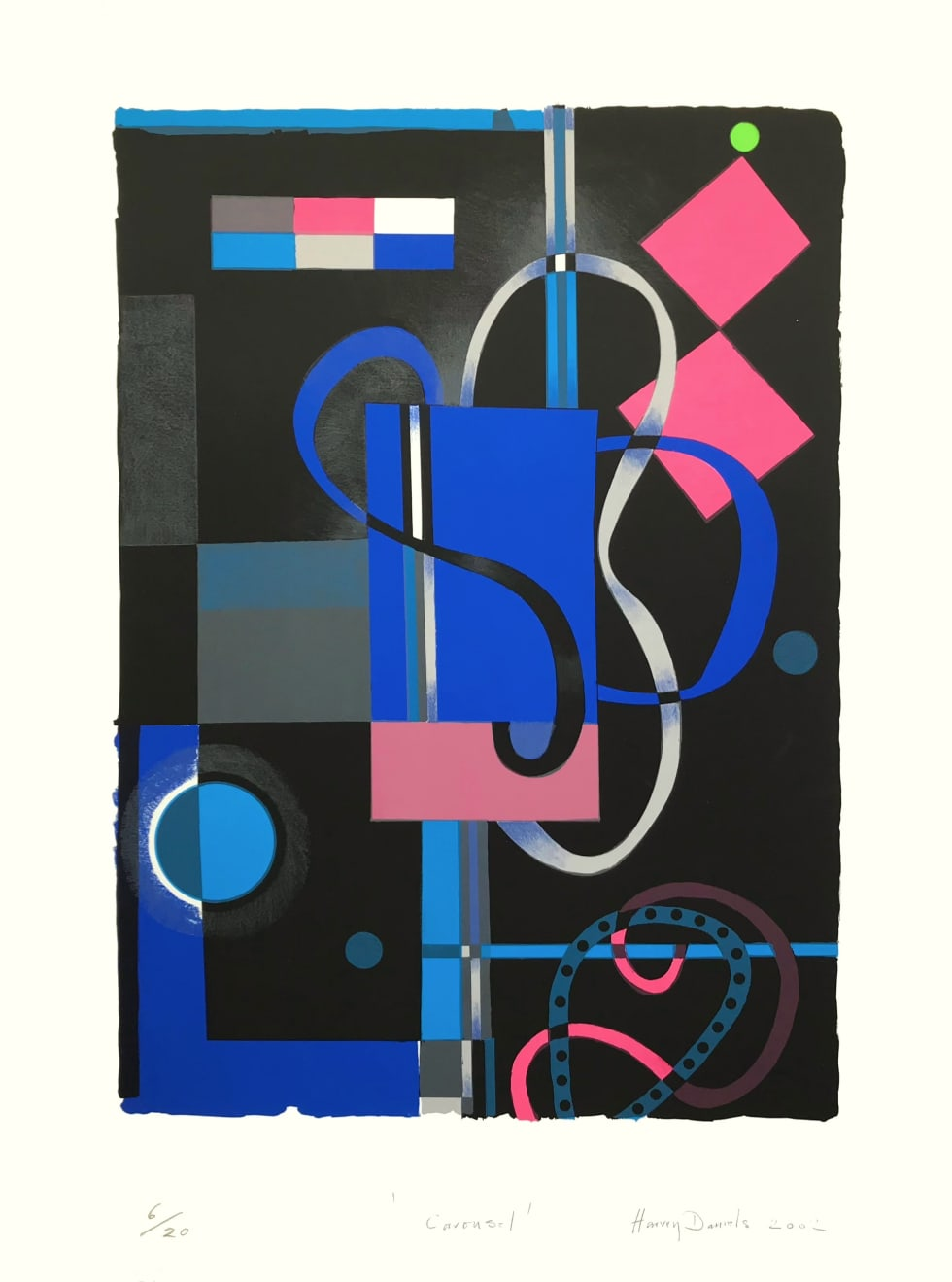 Harvey Daniels, Carousel, 2002