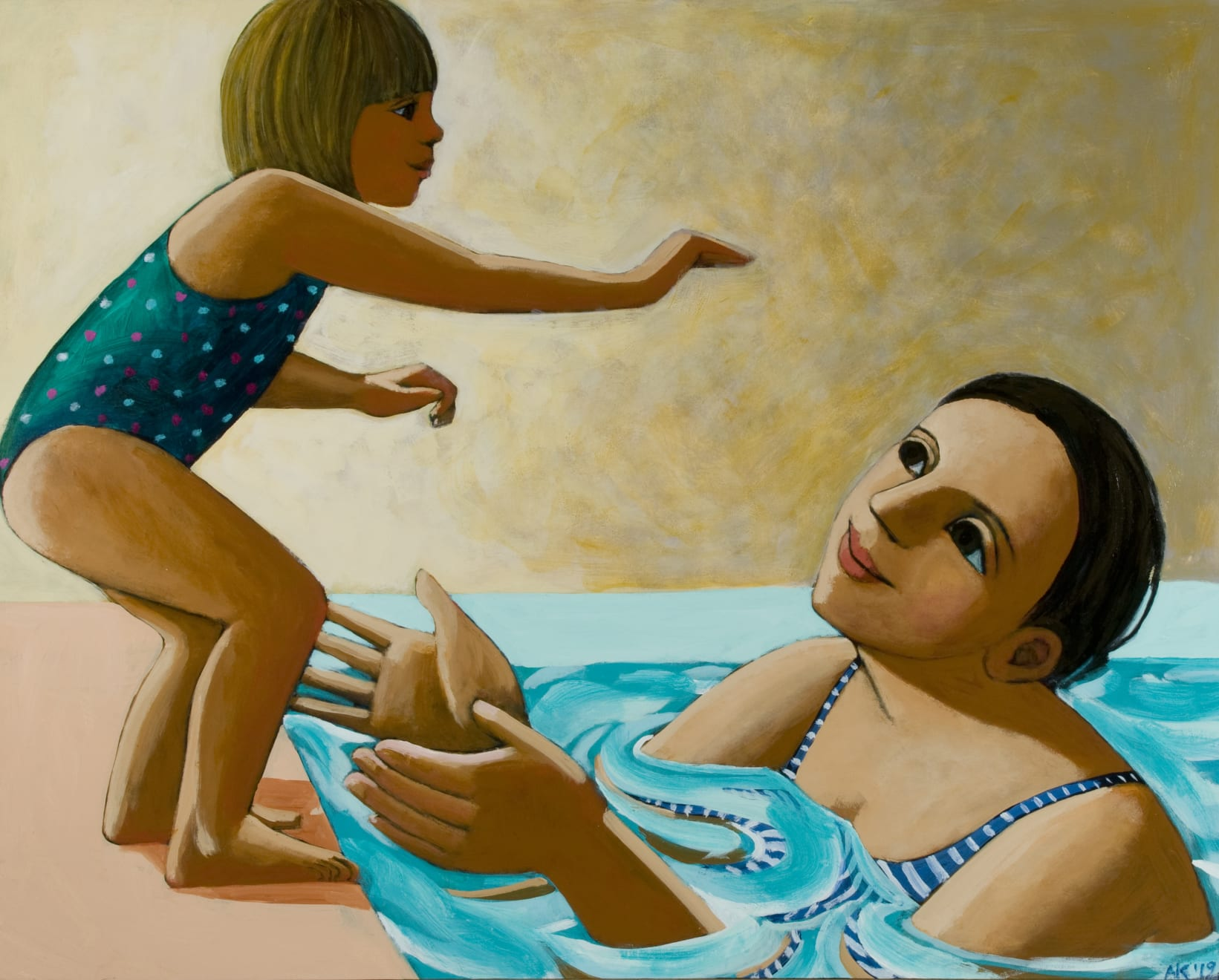Anita Klein, Betty Jumping In, 2019