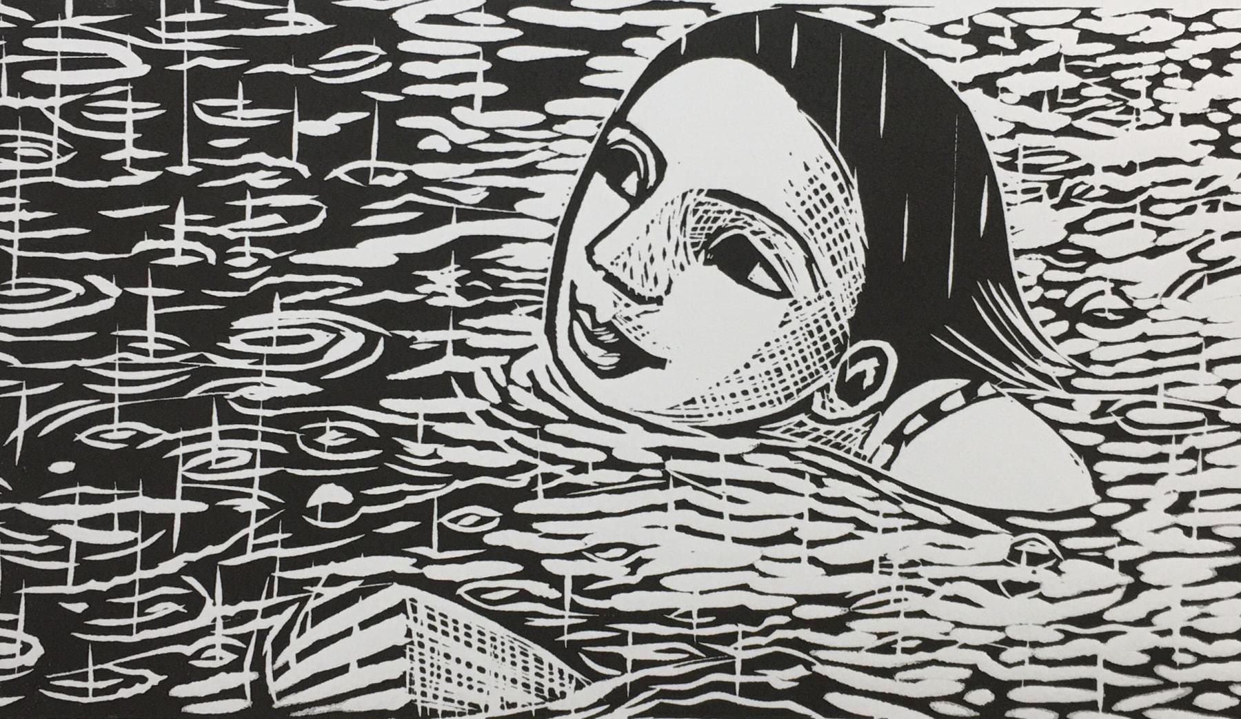 Anita Klein, Swimming in the Rain, 2020