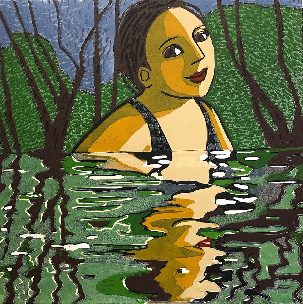 Anita Klein, Lake Swim, 2020