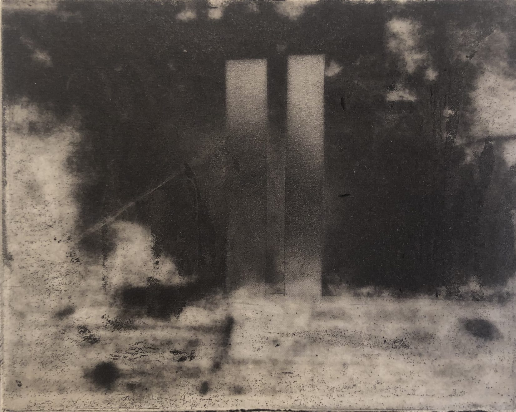 Norman Ackroyd, Manhattan, 1973