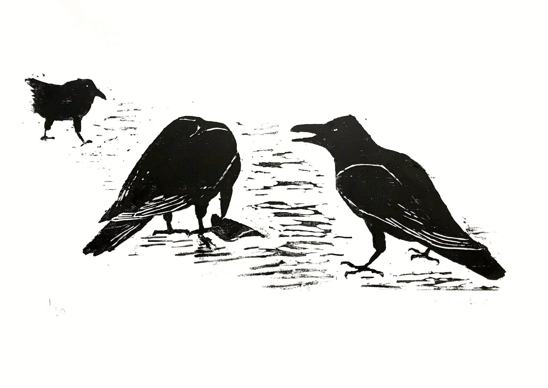 Summer Auction 2020 , LOT 13 - Elisabeth Bond - 'Crows XIII', 2018