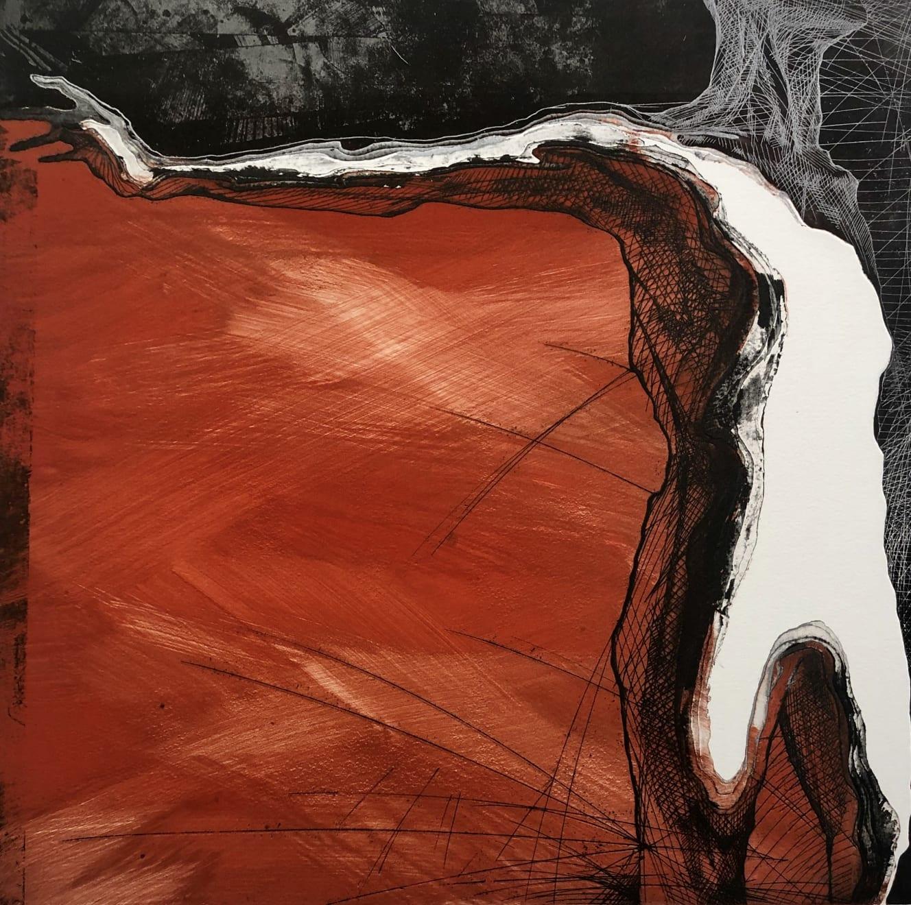 Veta Gorner, Big Tectonic Plates I, 2011