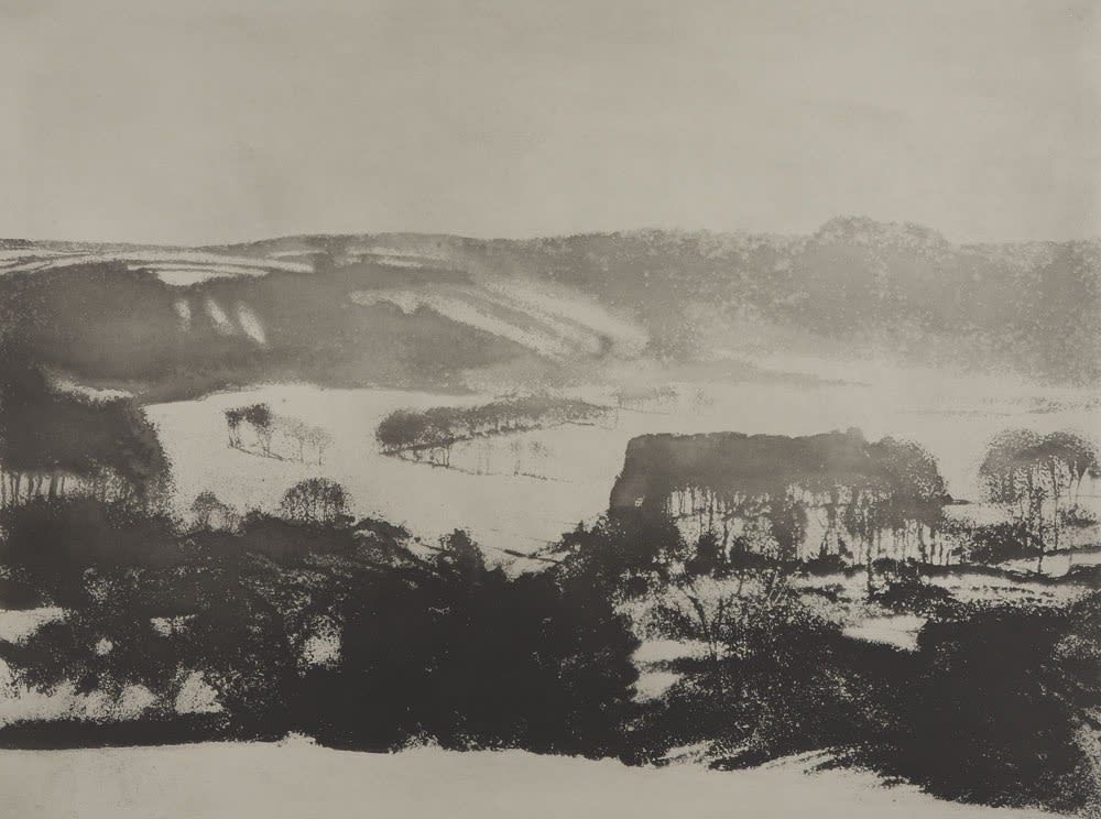 Norman Ackroyd, Thimbleby in Winter, 1996