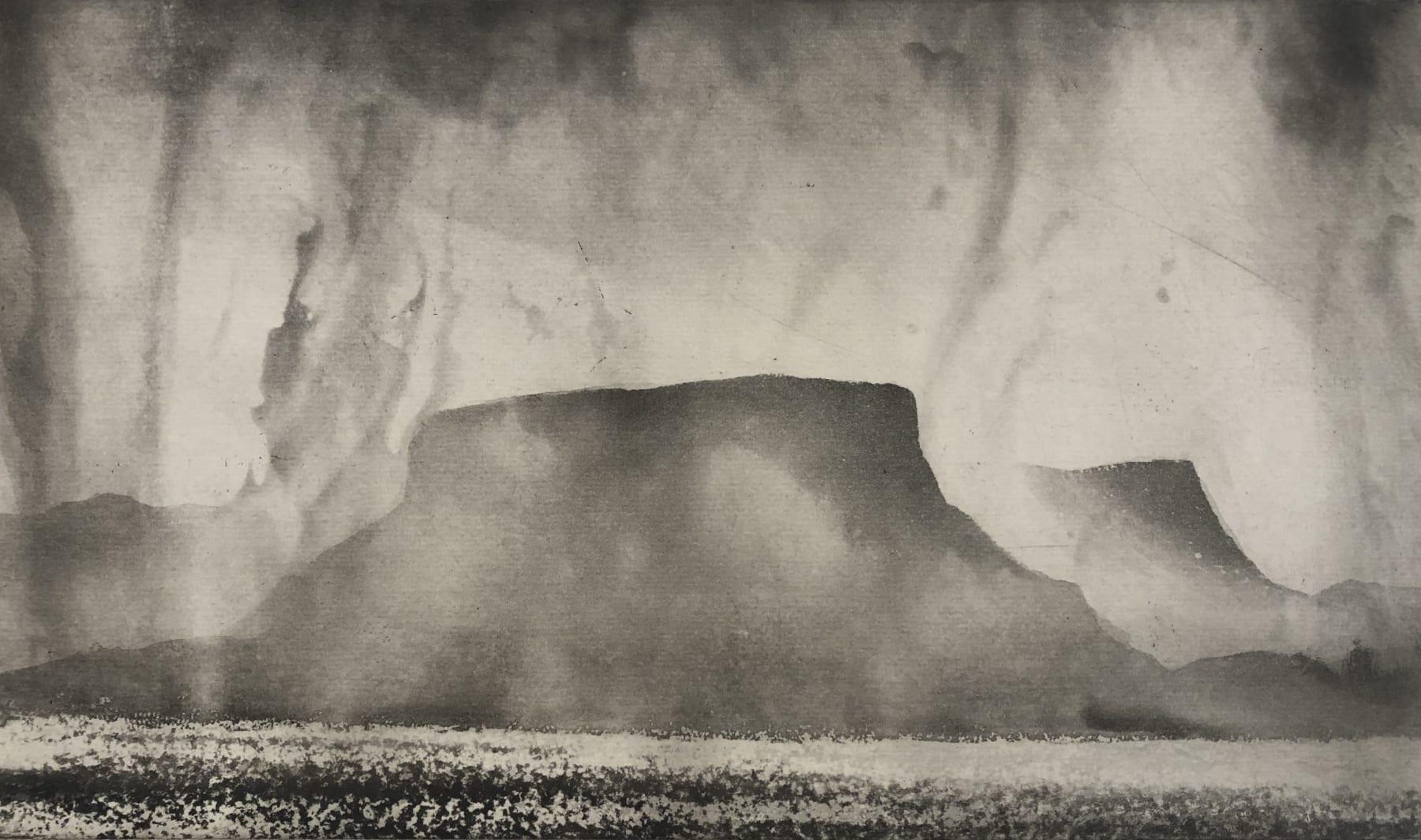 Norman Ackroyd, Benbulben, 2020