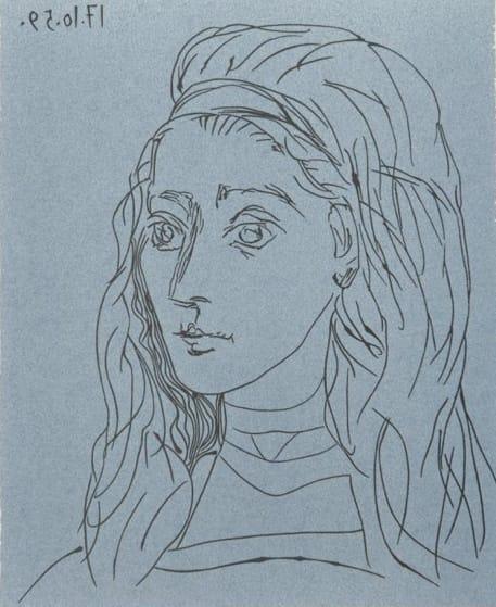 Pablo Picasso, Jacqueline, 1962