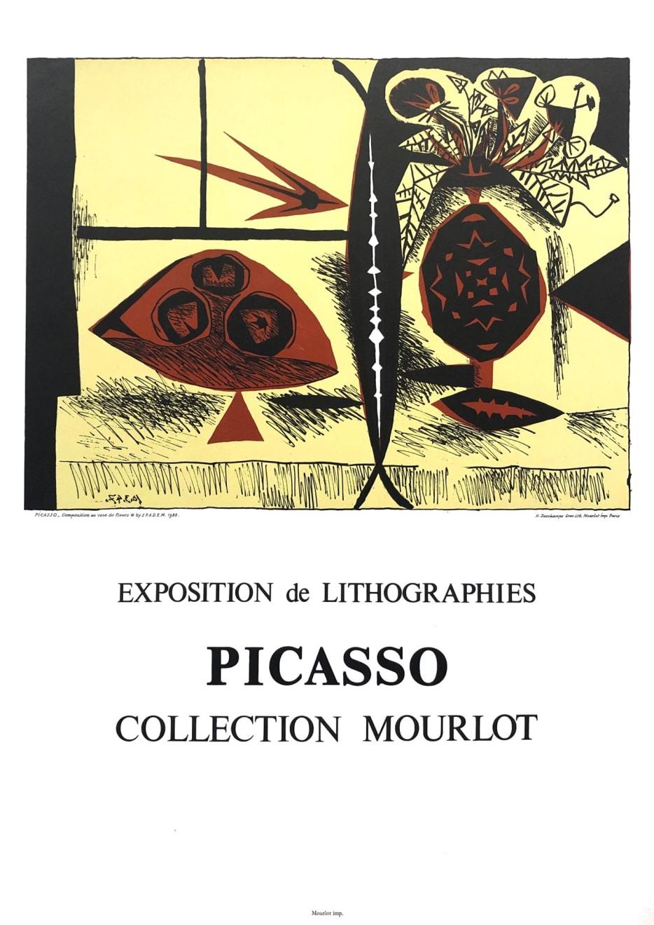 Pablo Picasso, 'Exposition de Lithographies' Picasso Poster , 1988