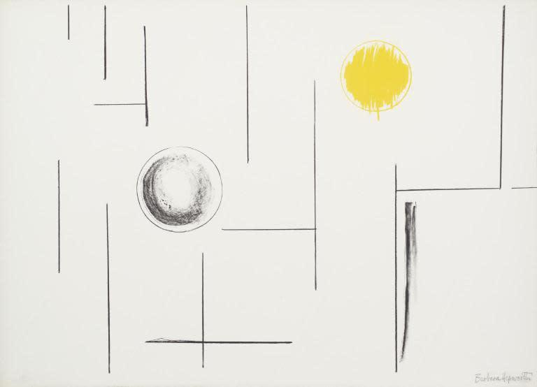 Barbara Hepworth, Sea Forms, 1969