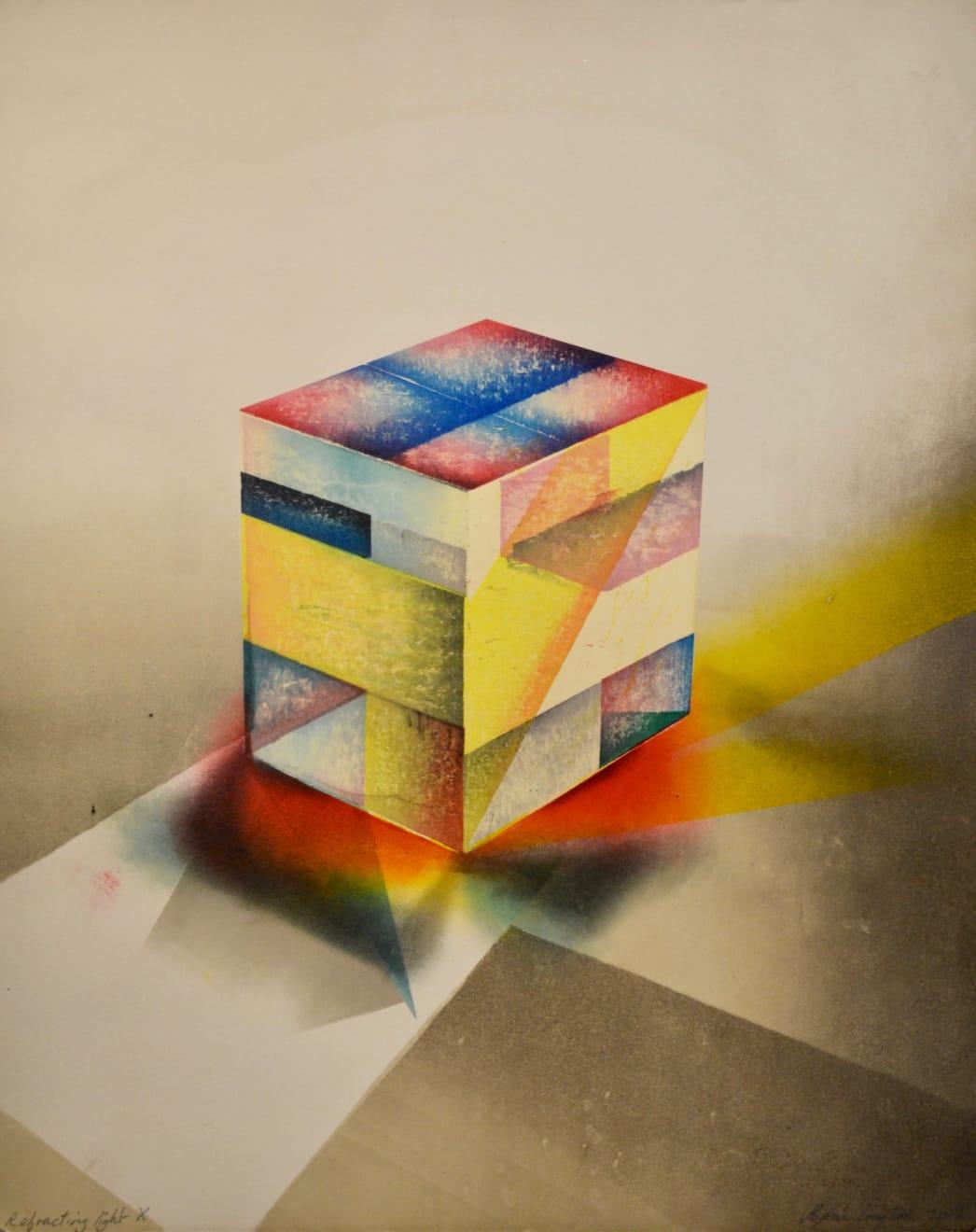 Sophie Layton, Refracting Light X, 2018