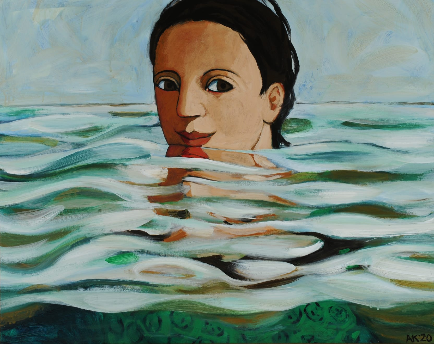 Anita Klein, Silky Water, 2020