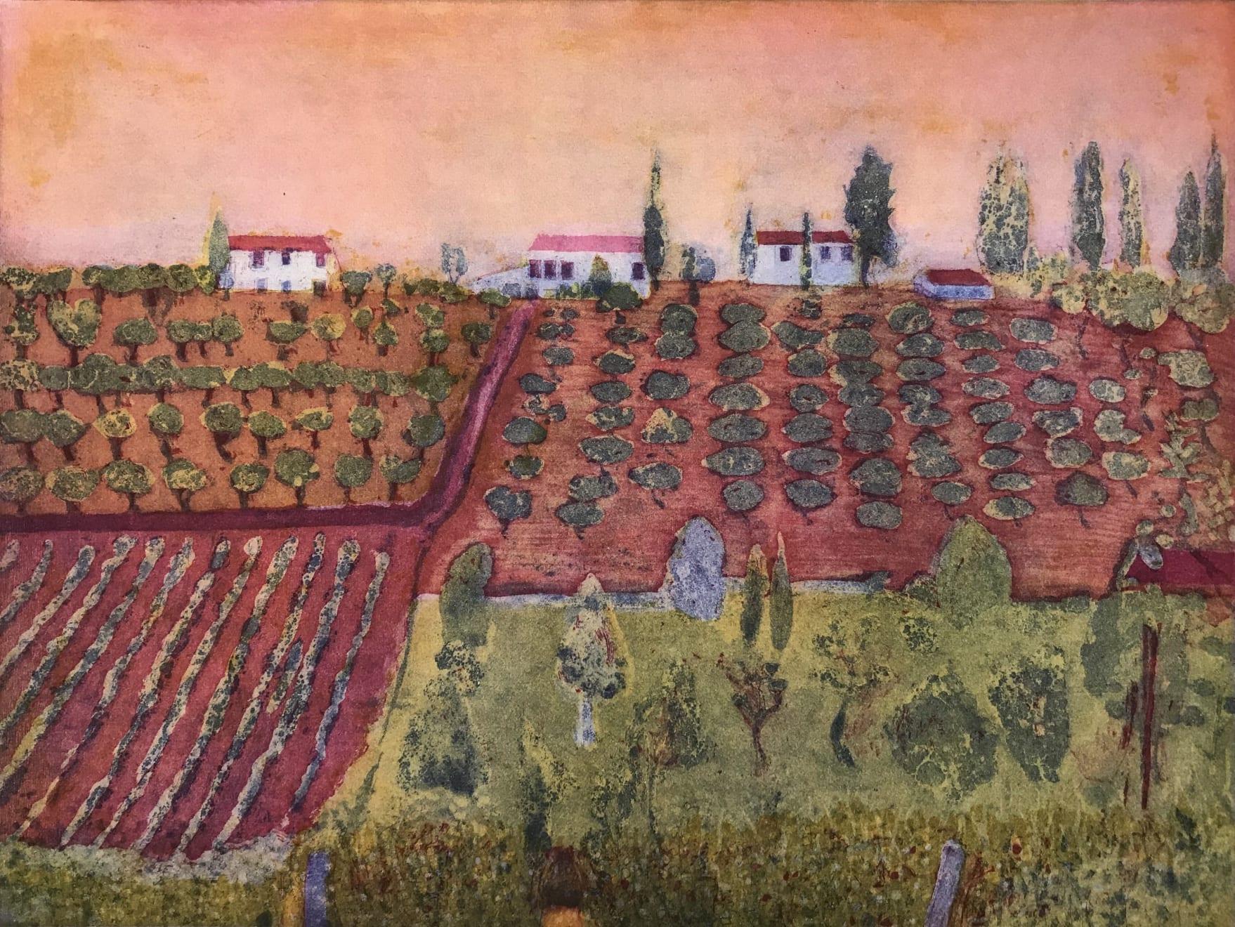 Karen Keogh, Sera Presto, Toscana , 2020