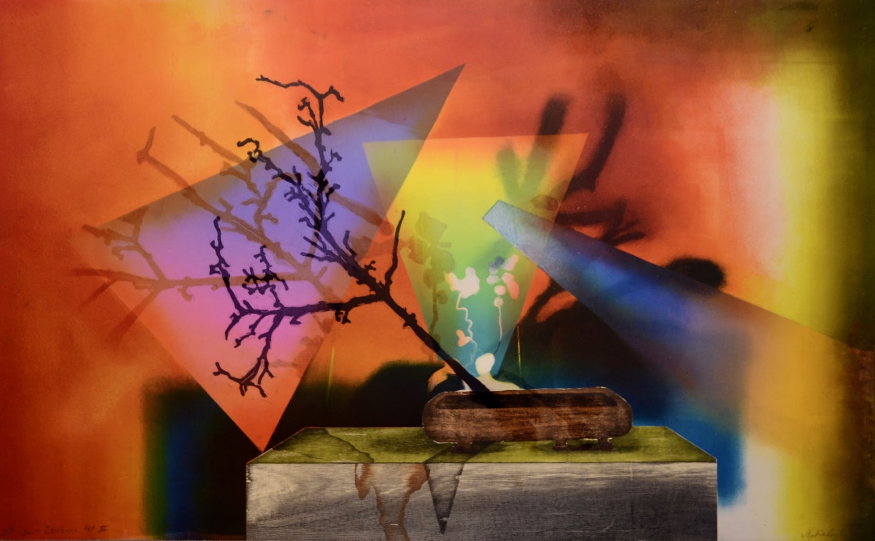 Sophie Layton, Still Life - Ikebana Pot III, 2019