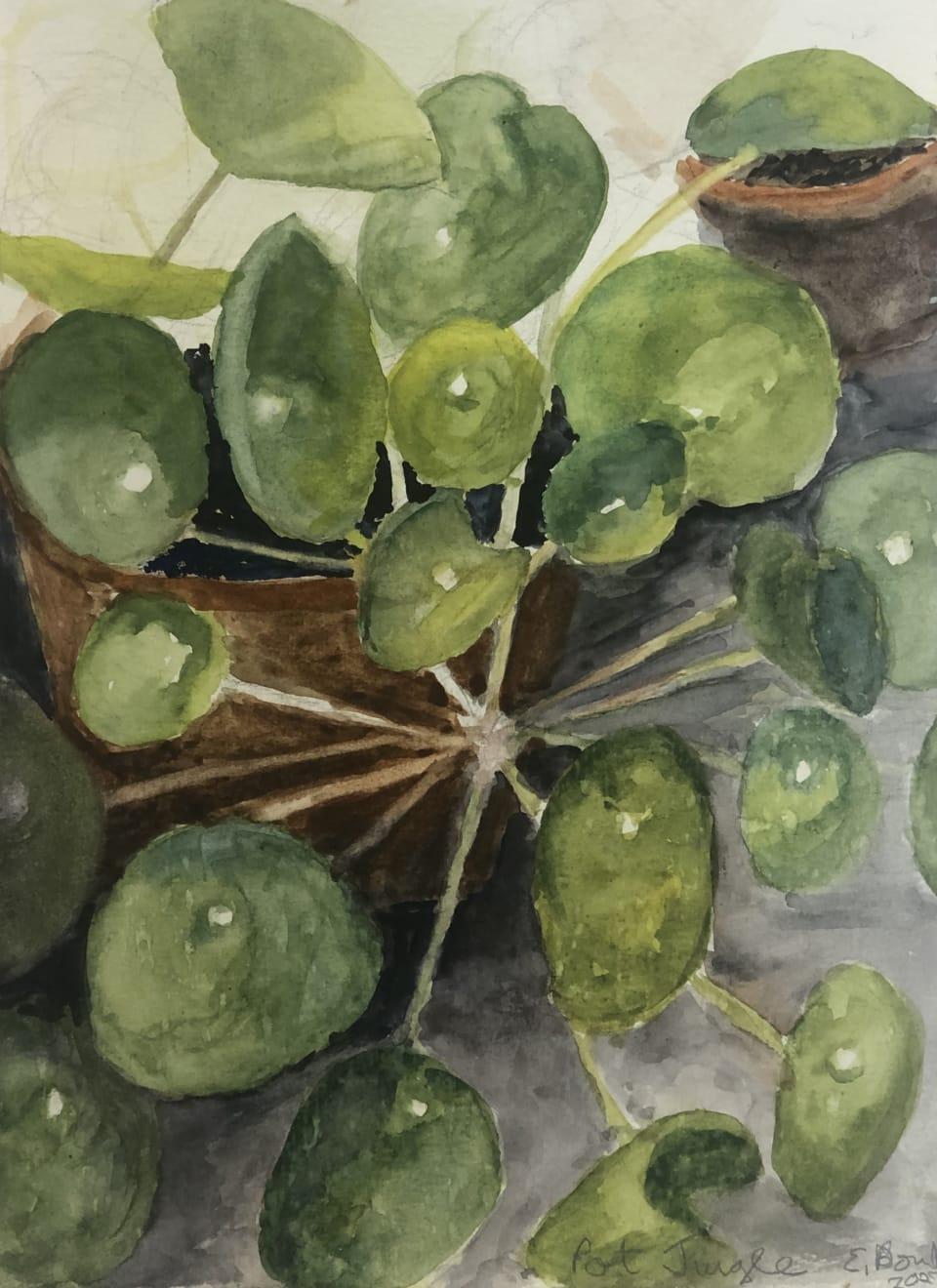Summer Auction 2020, LOT 16 - Elisabeth Bond - 'Pot Jungle', 2020