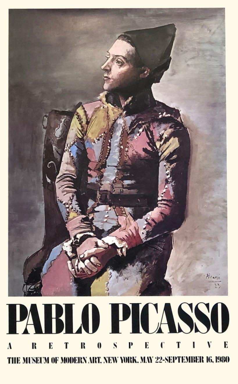 Pablo Picasso, 'Pablo Picasso: A Retrospective' Exhibition Poster, 1980