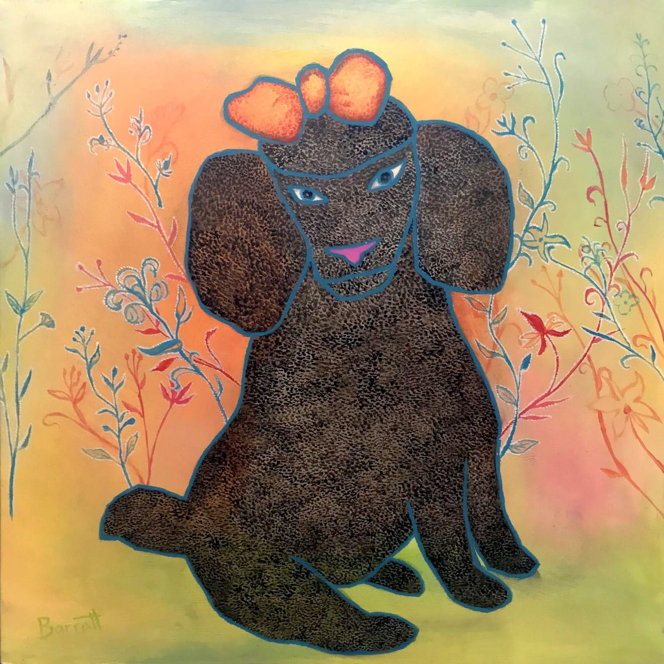 Summer Auction 2020, LOT 08 - Mychael Barratt - 'Chris Ofili's Dog', 2016