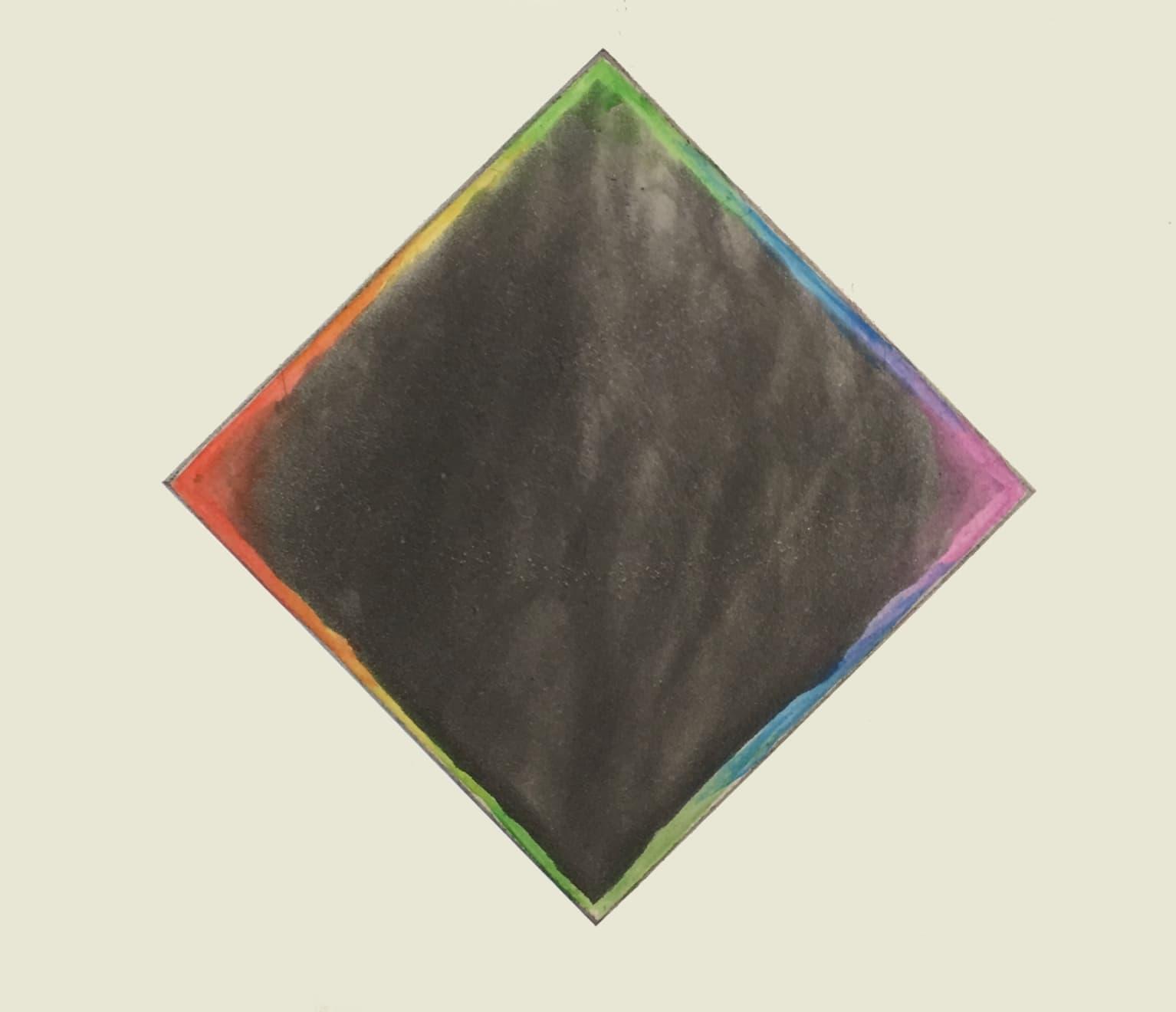 Norman Ackroyd, Lockdown Rainbow No. 1 - Eclipse, 2020