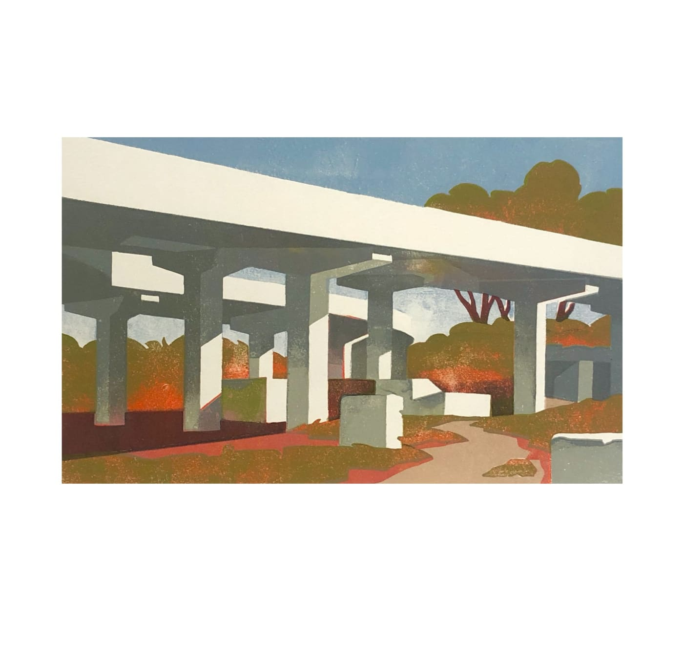 Paul Catherall, Under Pass, 2020