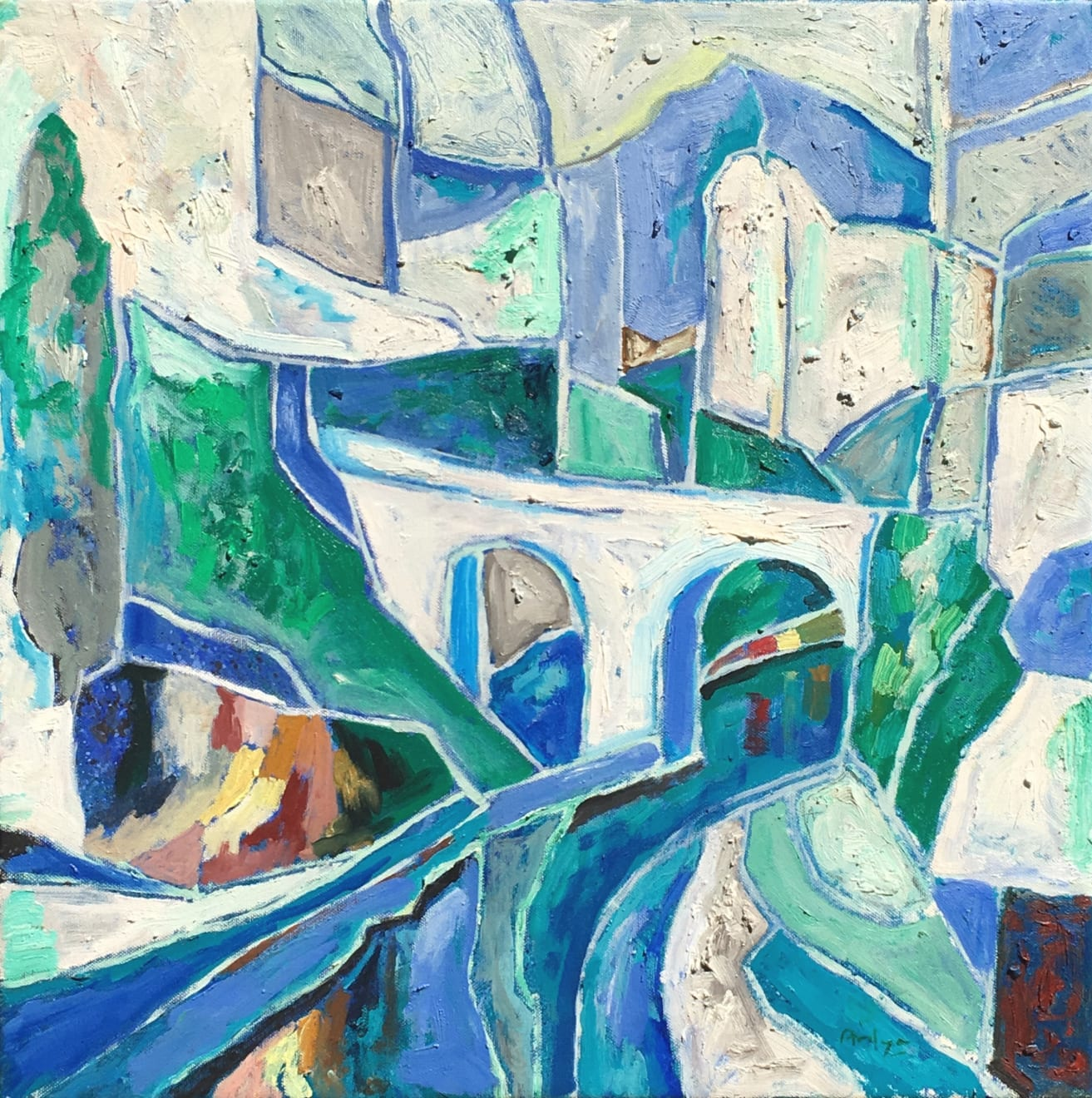 Summer Auction 2020, LOT 76 - Ardyn Halter - 'The River', 2017