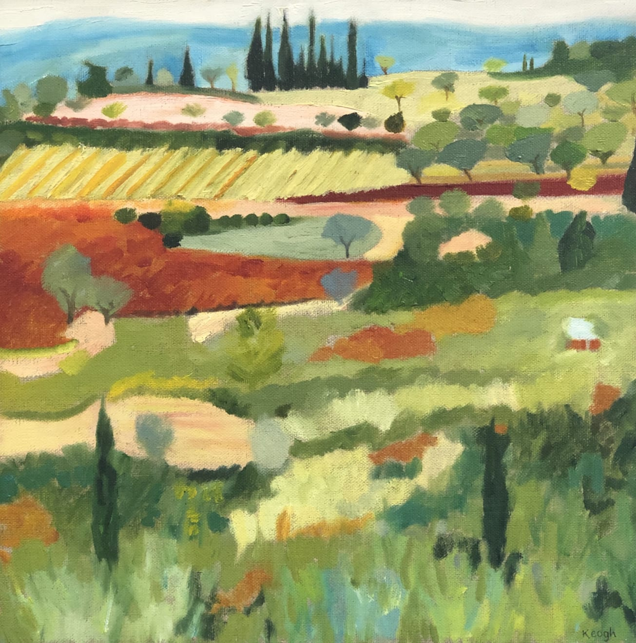 Karen Keogh, Distant Olive Grove