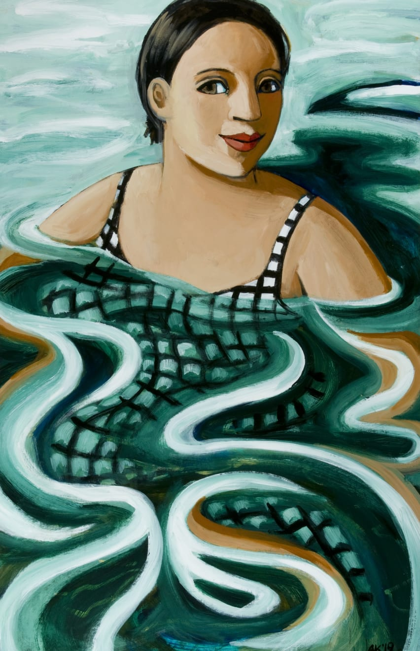Anita Klein, Treading Water, 2020