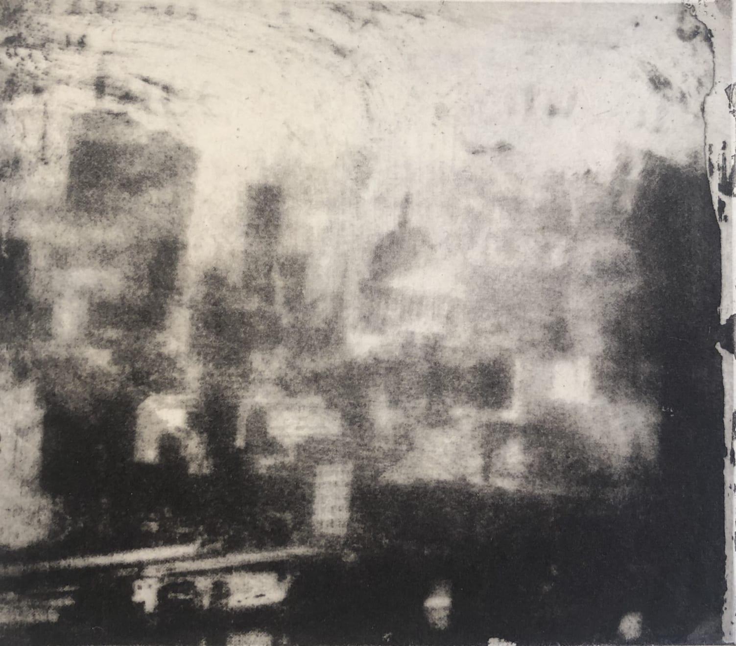 Norman Ackroyd, London, 1973