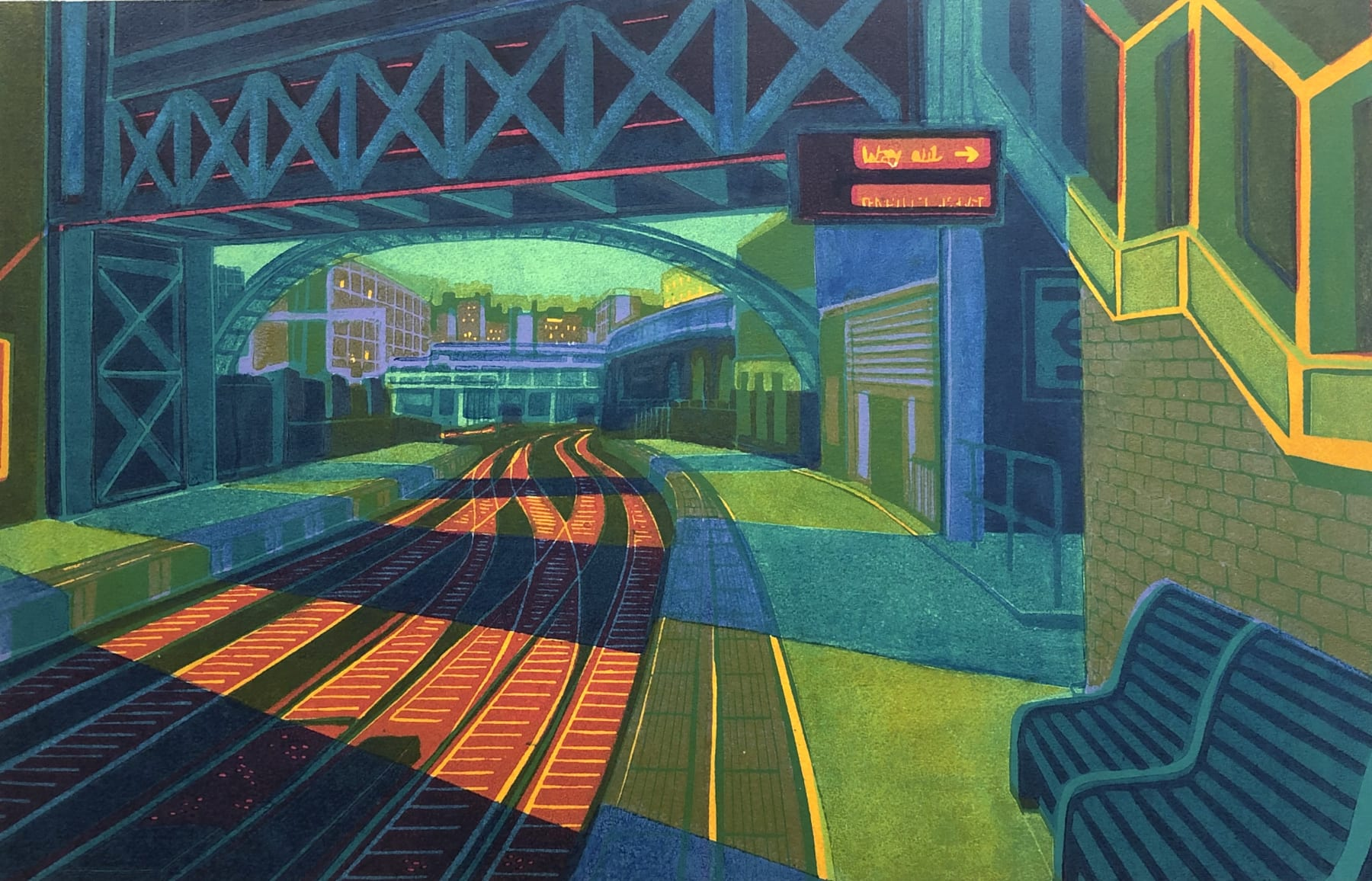 Summer Auction 2020, LOT 17 - Gail Brodholt - 'First Light at Farringdon'