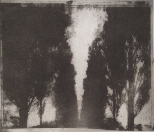 Summer Auction 2020, LOT 01 - Norman Ackroyd - 'The Avenue', 1976
