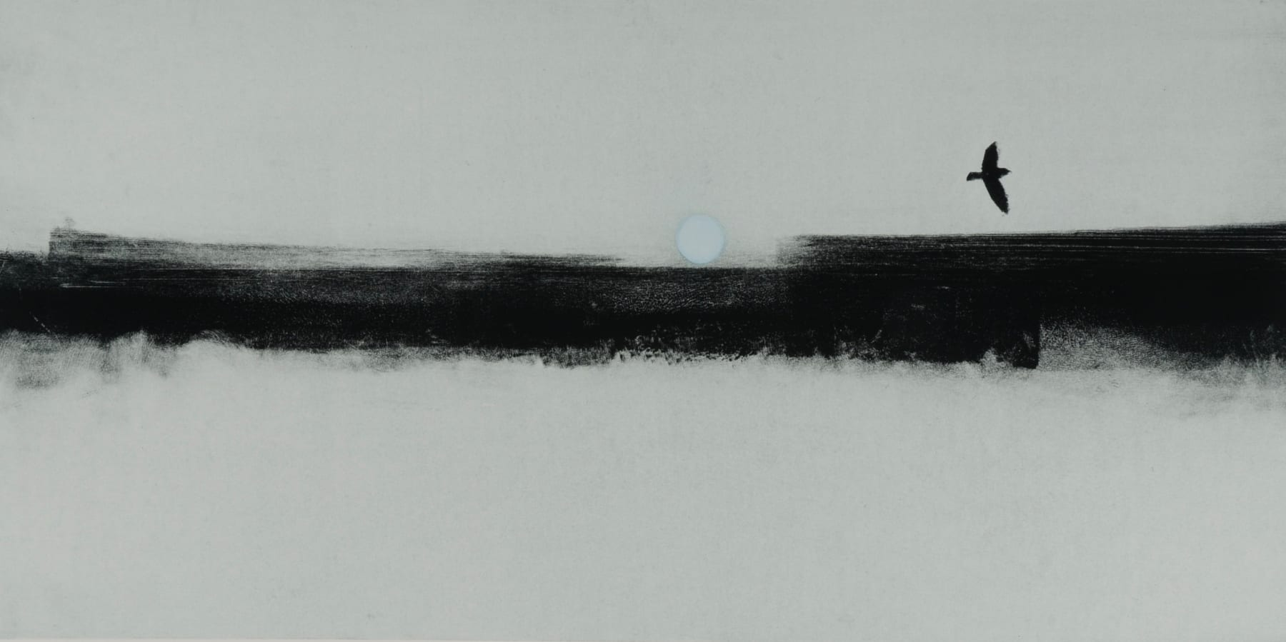 Nigel Swift, Winter Moon, 2020