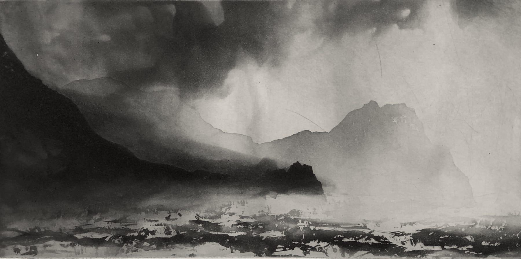 Norman Ackroyd, Saddle Head Achill Island Co.Mayo, 2020