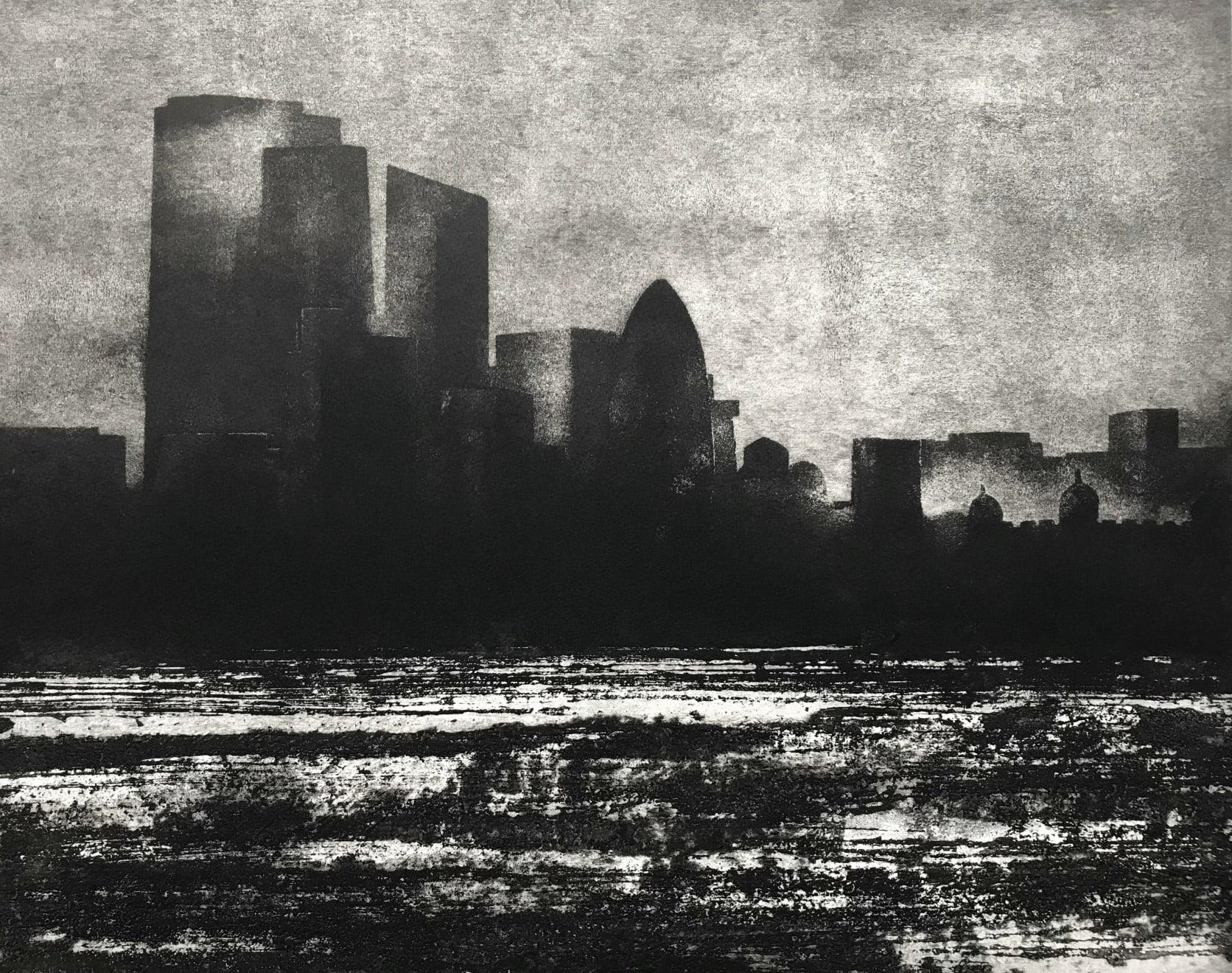 Jason Hicklin, The Thames. City of London, 2019