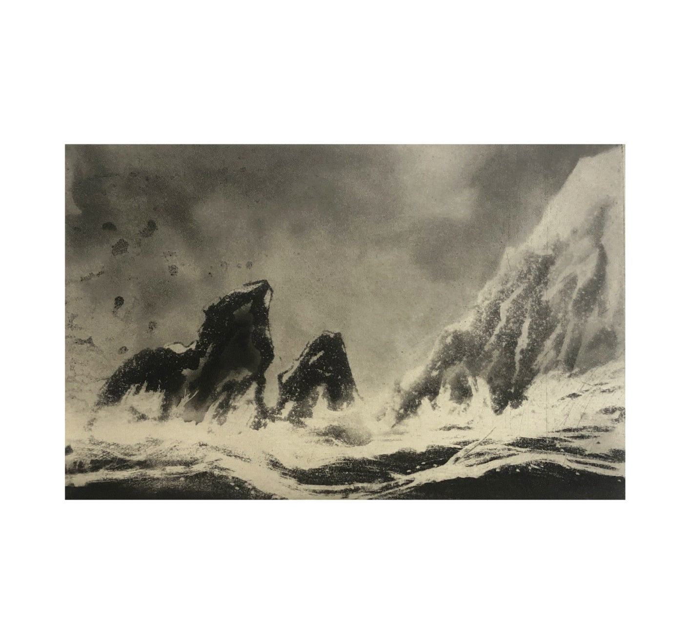 Norman Ackroyd, Dursey Head and Cow Rock, 2020