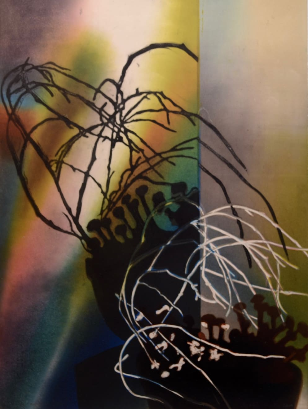 Sophie Layton, Still Life - Willow Detail, 2019