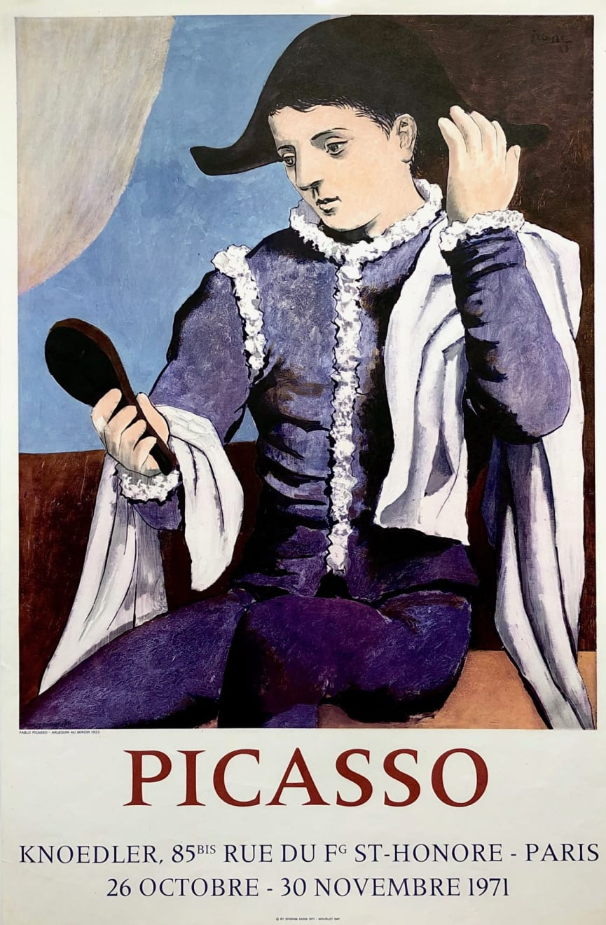 Pablo Picasso, Picasso Knoedler Gallery Poster, 1971