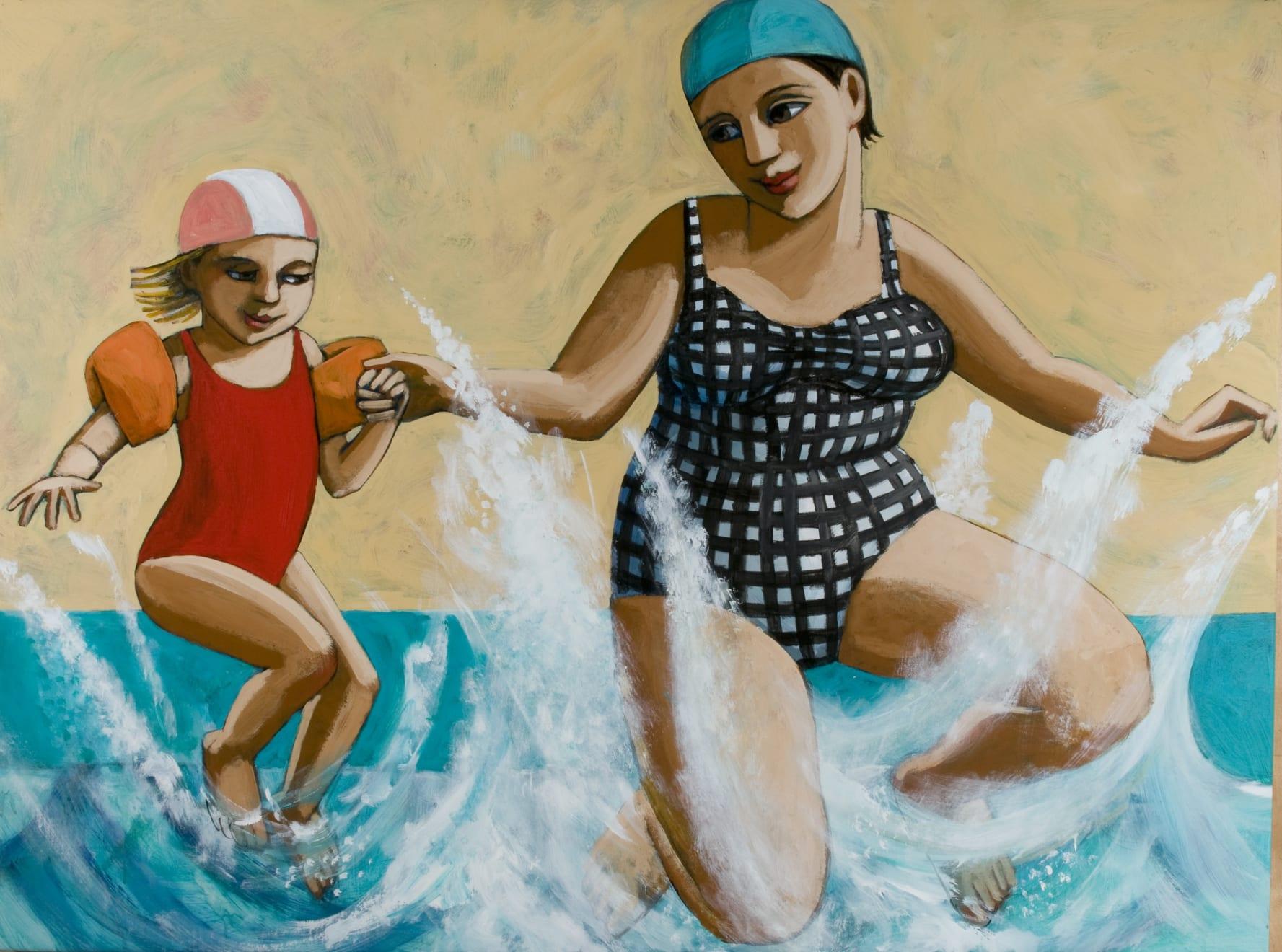 Anita Klein, Jumping in Together, 2019