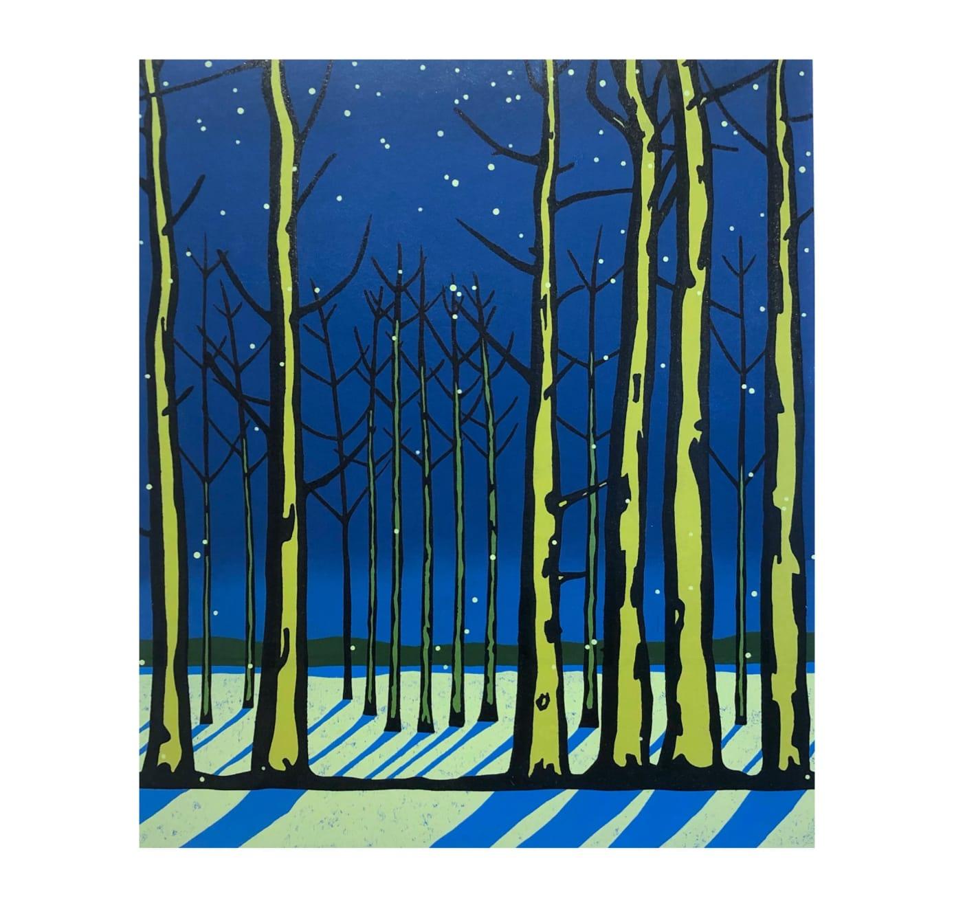 Paul Hogg, Snowy Evening (Homage to Robert Frost), 2020